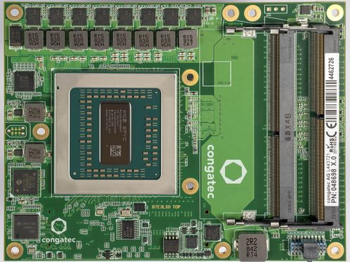 COM Express Type 7 with AMD EPYC 3000 processor - congatec AG