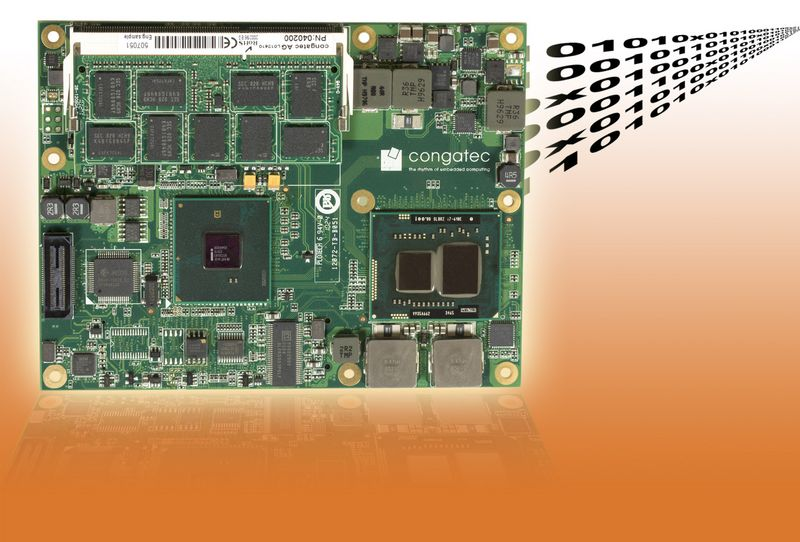 COM Express™ Basic Type 2 module with ECC memory support