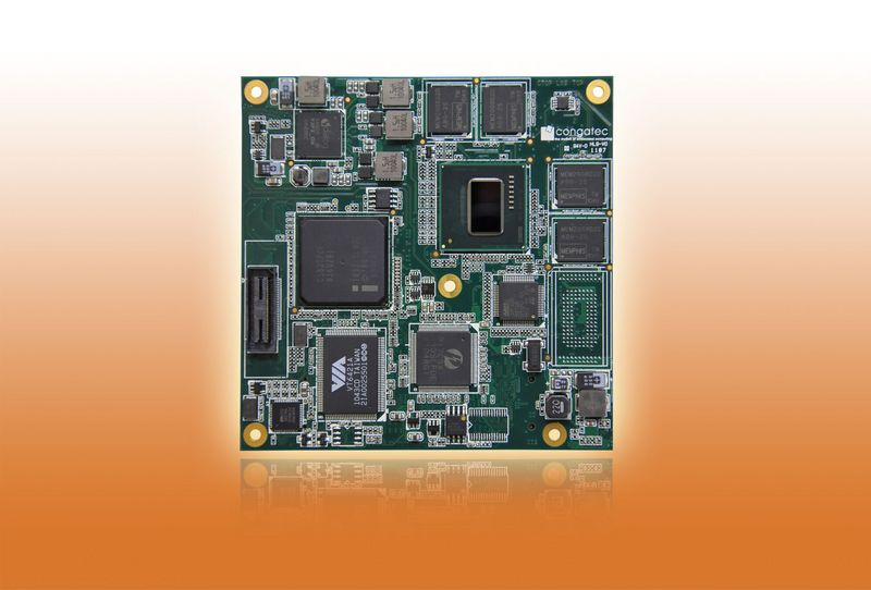 COM Express™ Compact Type 2 module based on Intel® Atom™ E600 processor
