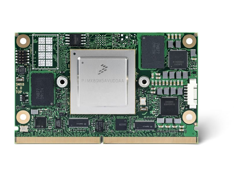 First congatec SMARC 2 0 module with NXP i MX8 processor - congatec AG