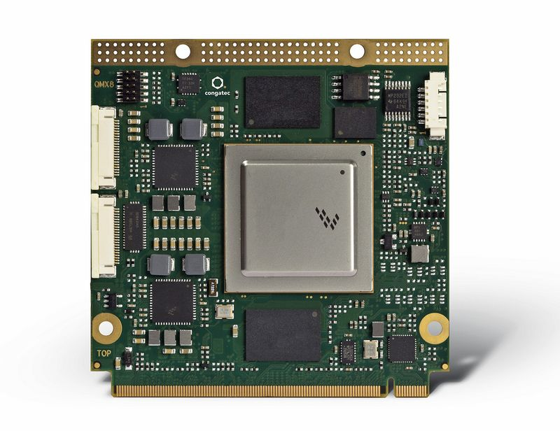 congatec supports new NXP i MX8 processors on Qseven and