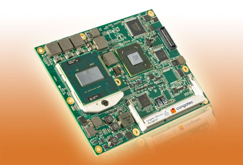 COM Express™ Basic Type 2 module based on 2nd Generation Intel® Core™ processor family